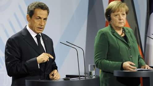 French, German Leaders Agree on European Debt Plans