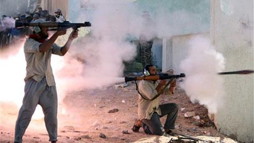 Gaddafi's forces