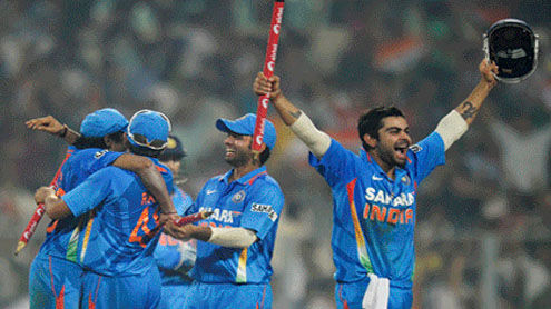 India whitewash England