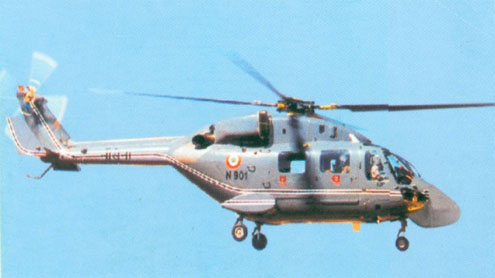 Indian military helicopter