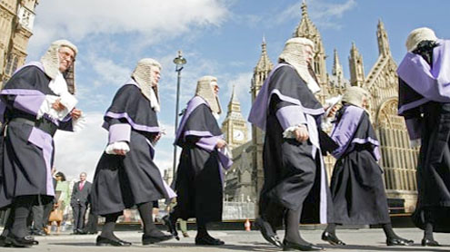 After 350 years, Irish judges throw off their wigs