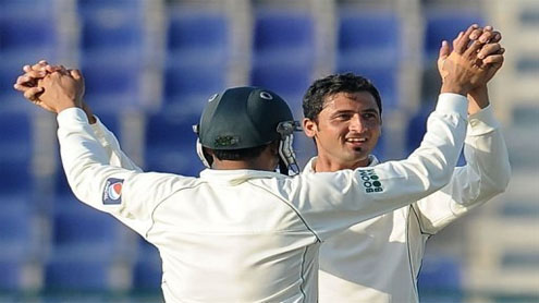 Junaid's maiden five-wicket haul rocks Sri Lanka
