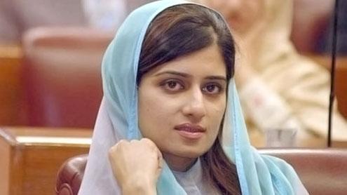 Minister Hina Rabbani Khar