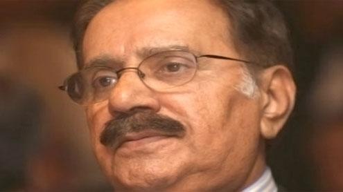 Minister Makhdoom Amin Fahim