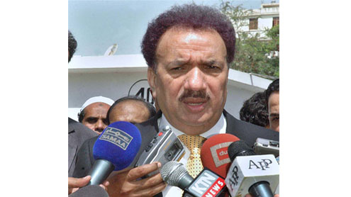 Immigration system to implemented on Pak-Afghan border from November: Malik