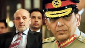 Mohammad Umer Daudzai and General Kiyani