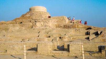 The lost city of Mohenjo Daro
