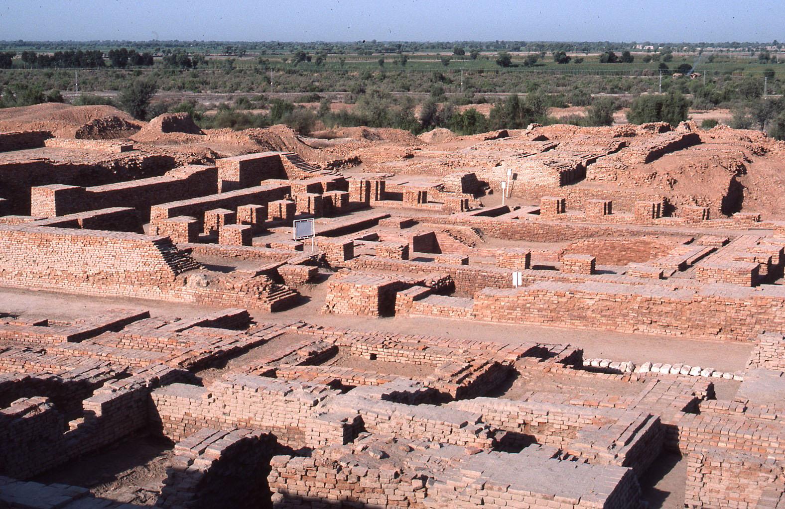 The lost city of Mohenjo Daro