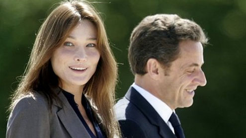 Carla Bruni gives birth