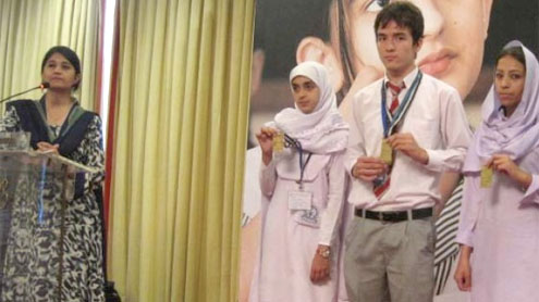 Two Pak students among top 10 in international contest
