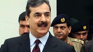 Prime Minister Syed Yusuf Raza Gilani