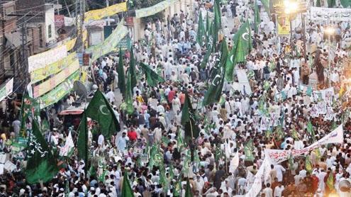 Step down,demands Shahbaz of President Zardari