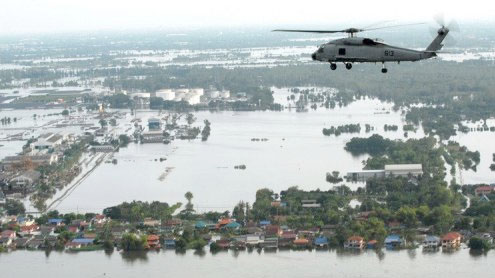 US military helicopters to survey deadly Thai flooding