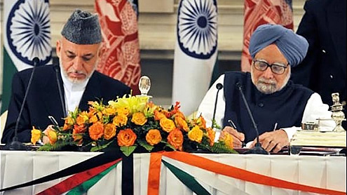 Strategic pact signed between India and Afghanistan