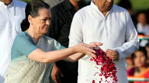 Sonia Gandhi attends first public event after surgery