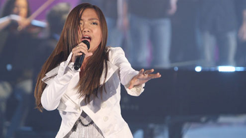Asian singing sensation Charice