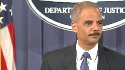 US Attorney General Eric