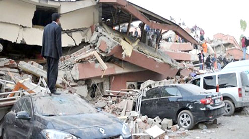1,000 feared dead in Turkey quake