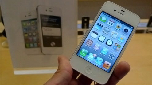 iPhone 4S comes to Dubai today