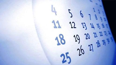 weekly holidays notified