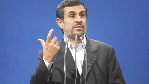Ahmadinejad goes on the offensive against clerical opponents