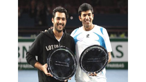 Aisam ul Haq and Bopanna