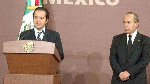 Mexico names Alejandro Poire as new interior minister