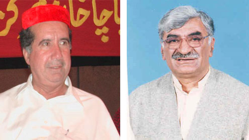 Asfand, Afrasiab again nominated for top slots