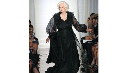 Meet Carmen Dell'Orefice, the 80-year-old supermodel
