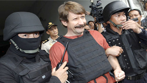 Viktor Bout guilty of Colombian rebel arms deal