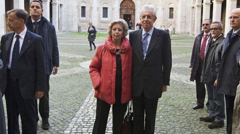 Economist Monti to quickly form new Italian govt
