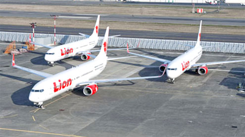 Indonesian airline Lion Air