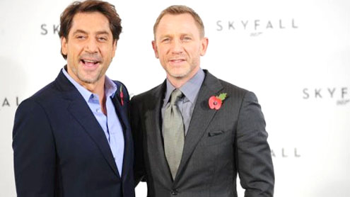 New James Bond film 'Skyfall' unveiled