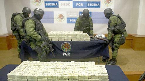 Mexico's military seizes vehicle containing $15 million