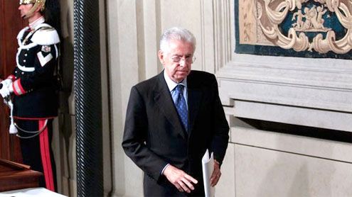 Mario Monti: 'Italy can overcome crisis'