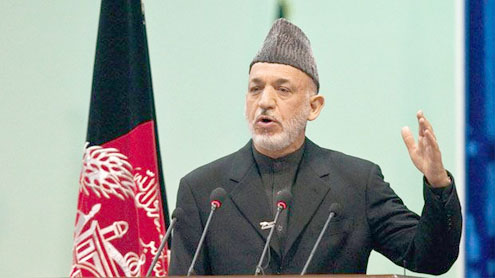 End night raids before Afghan deal, Karzai tells US