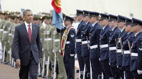 President Obama visits Australia
