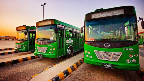 Punjab govt, Chinese company buses