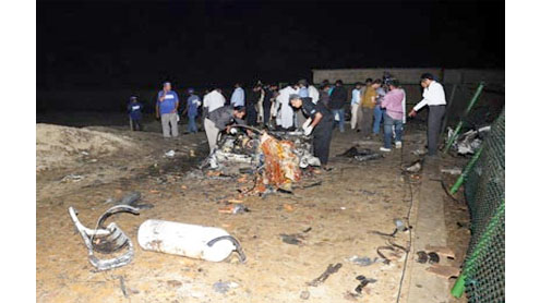 At least four including policeman killed in blast on Seaview