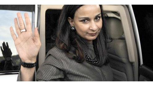 Sherry to be the top Pakistani Diplomat in Washington