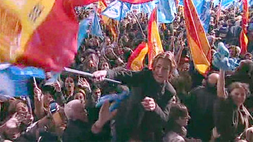 Spain election: Rajoy's Popular Party declares victory
