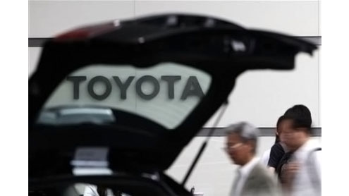 Toyota recalls 550,000 vehicles on steering