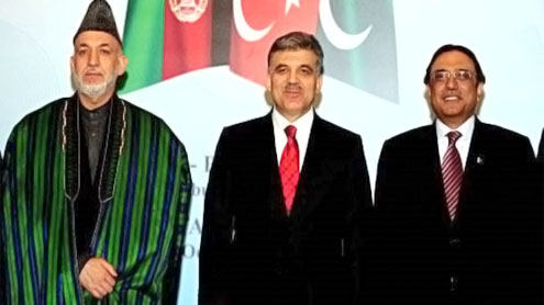 Complete understanding between Pakistan,Afghanistan and Turkey at trilateral summit