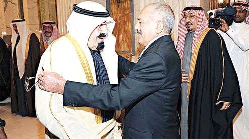 Yemeni President Ali Abdullah Saleh