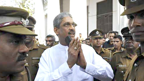 army chief Sarath Fonseka