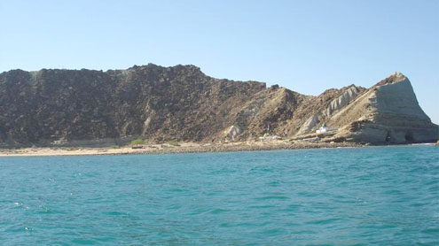Astola Island- Island of the seven hills