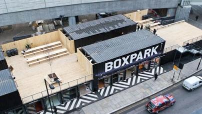 Worlds first  pop-up mall opens