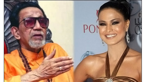 Bal Thackeray and Veena Malik