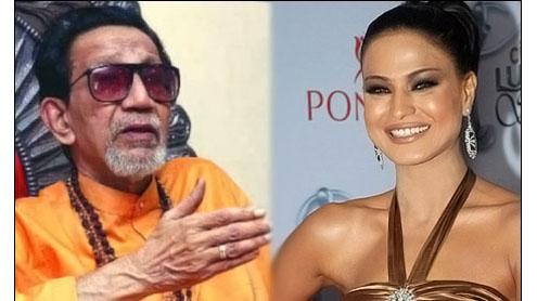 Send back Veena Malik to Pakistan: Bal Thackeray