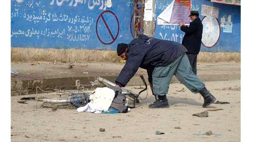Blasts across Afghanistan target Shi'ites, 59 dead